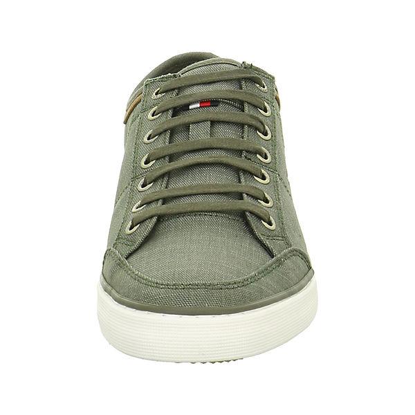 HILFIGER grün Sneakers TOMMY TOMMY grün grün TOMMY HILFIGER Sneakers Low Low TOMMY Low Sneakers HILFIGER IwnZpA