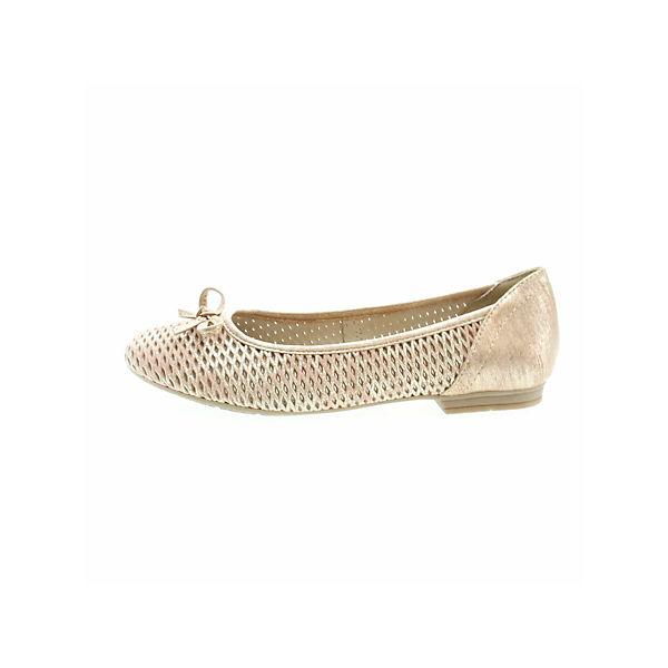 Jana, Klassische Ballerinas, gold  Gute Qualität beliebte Schuhe