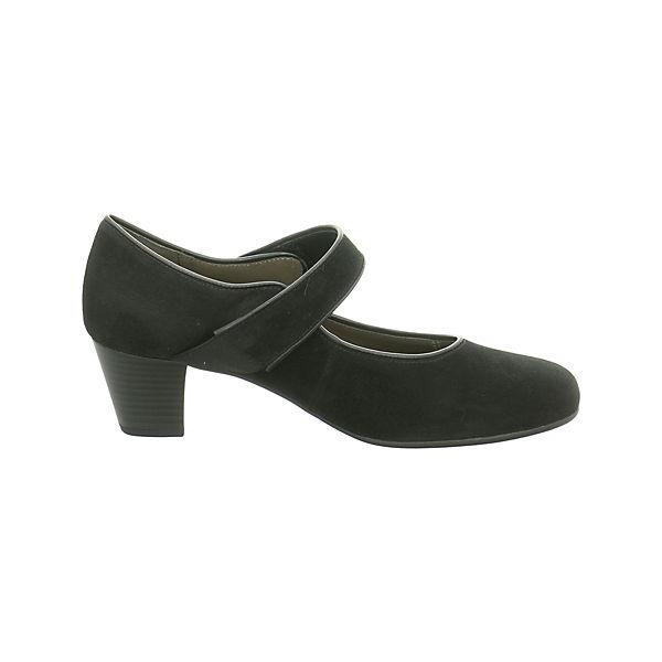 Gabor, Spangenpumps, Gute schwarz  Gute Spangenpumps, Qualität beliebte Schuhe c23e9c