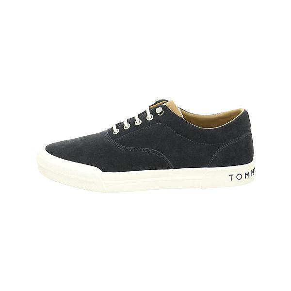 TOMMY HILFIGER, Sneakers Low, beliebte dunkelblau  Gute Qualität beliebte Low, Schuhe 5e7c3a