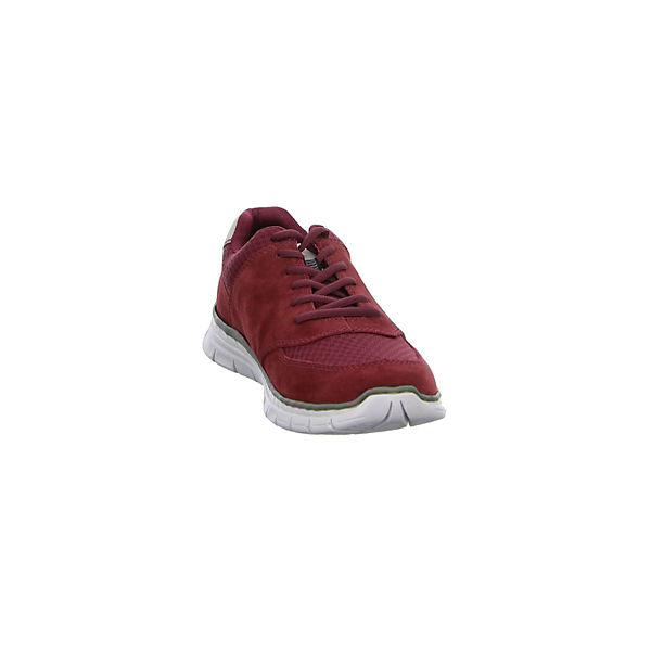rieker, Sneakers Low, rot     250f4f