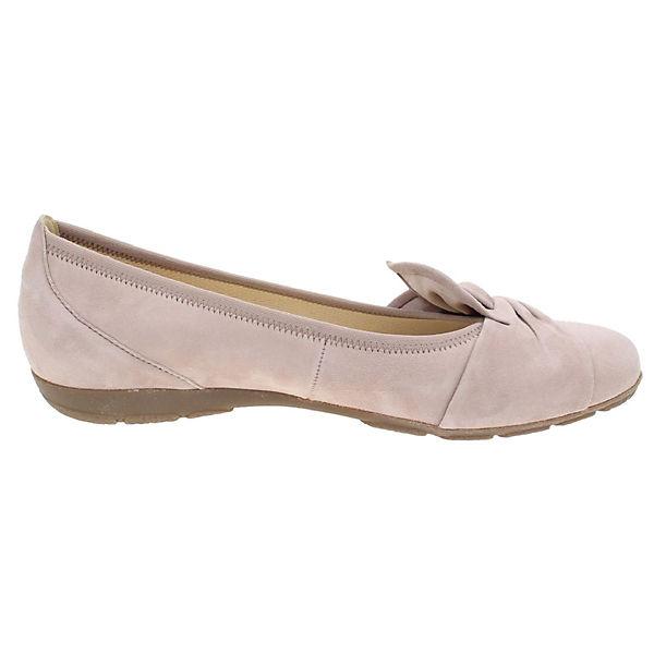 Gabor Klassische Ballerinas rosa    Gute Qualität beliebte Schuhe 3f99bb
