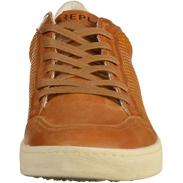 REPLAY Sneakers Low cognac  Gute Qualität beliebte Schuhe