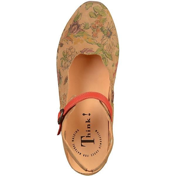 Think! Spangenpumps Gute braun  Gute Spangenpumps Qualität beliebte Schuhe 331330