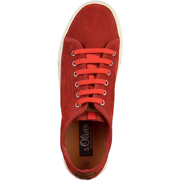 Oliver Low rot Low Oliver Sneakers s s Sneakers rot s FqYwf1