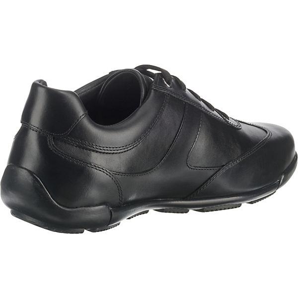 GEOX, U EDGWARE C Sneakers Low, schwarz Schuhe  Gute Qualität beliebte Schuhe schwarz f42afd