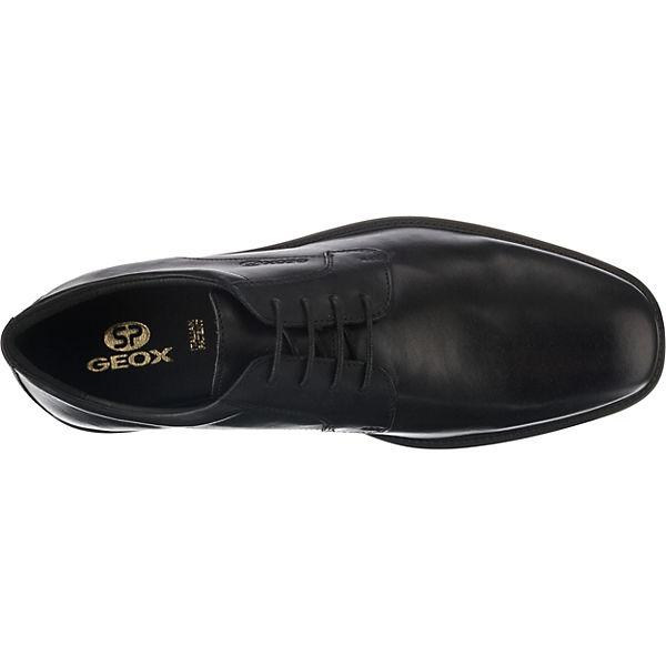 GEOX U BRANDOLF Qualität C Business-Schnürschuhe schwarz  Gute Qualität BRANDOLF beliebte Schuhe 24228b