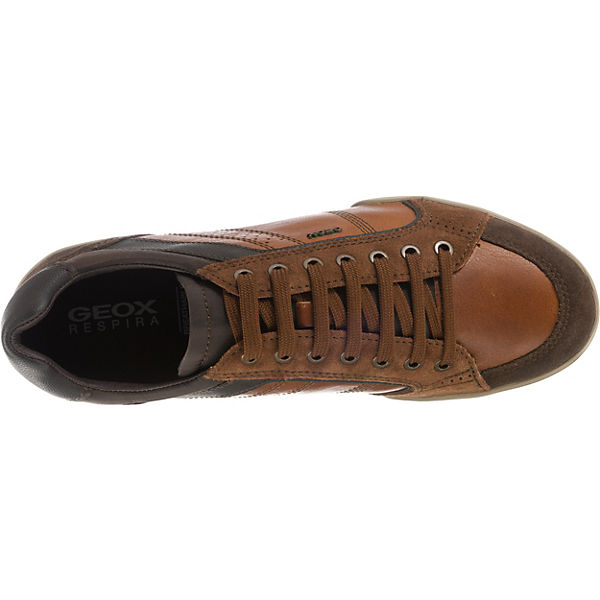 GEOX, U KRISTOF  A Sneakers Low, braun  KRISTOF Gute Qualität beliebte Schuhe 80bfef