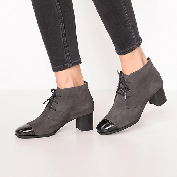 SABRINAS Moscu Schnürstiefeletten schwarz/grau  Gute Qualität beliebte Schuhe