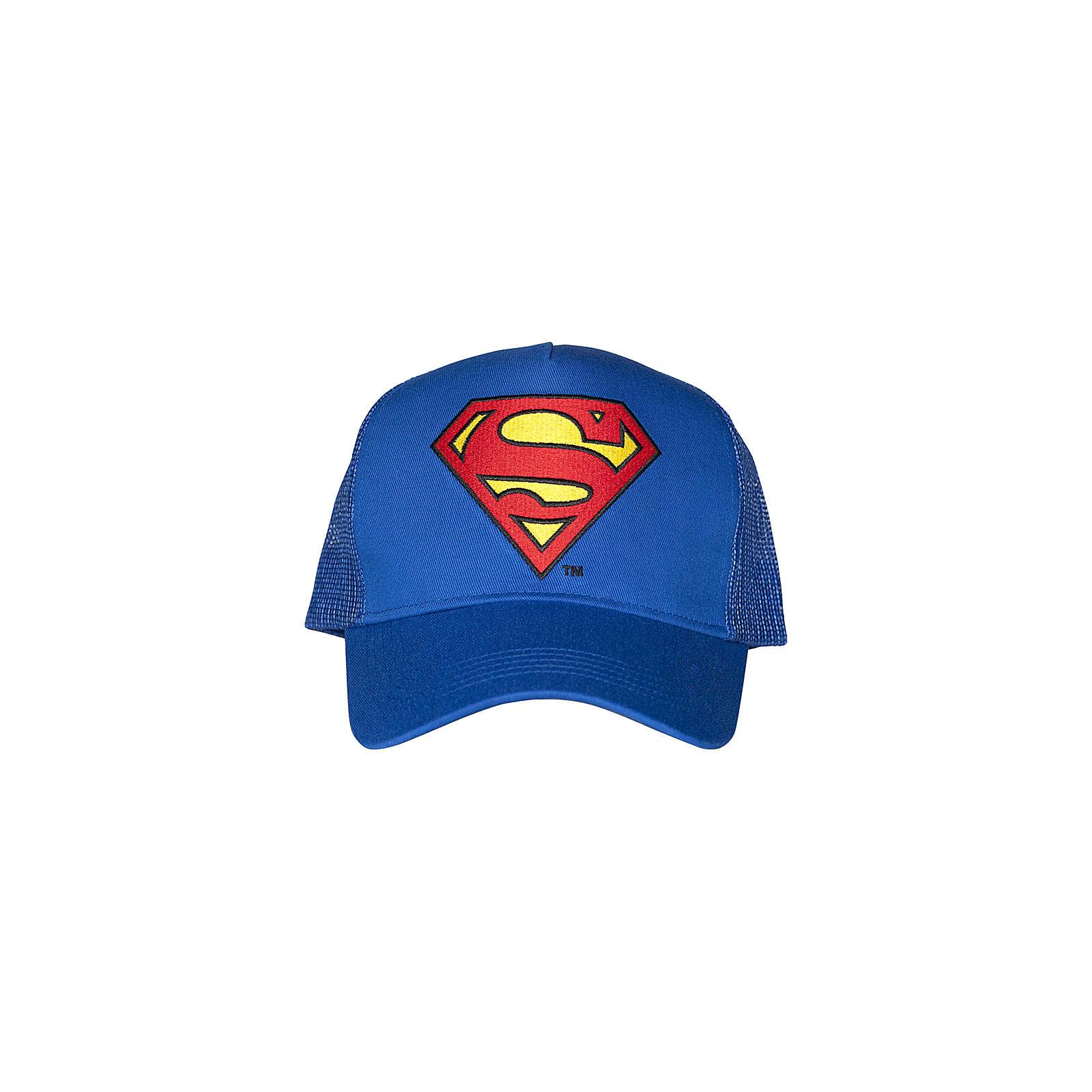 Logoshirt® Trucker - Superman – Logo Caps blau