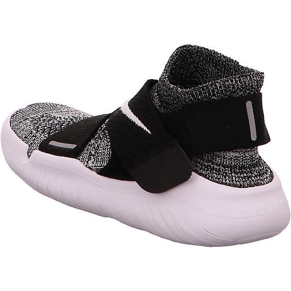 NIKE, Free RN  Motion Flyknit Laufschuhe, schwarz/weiß  RN Gute Qualität beliebte Schuhe 68de89