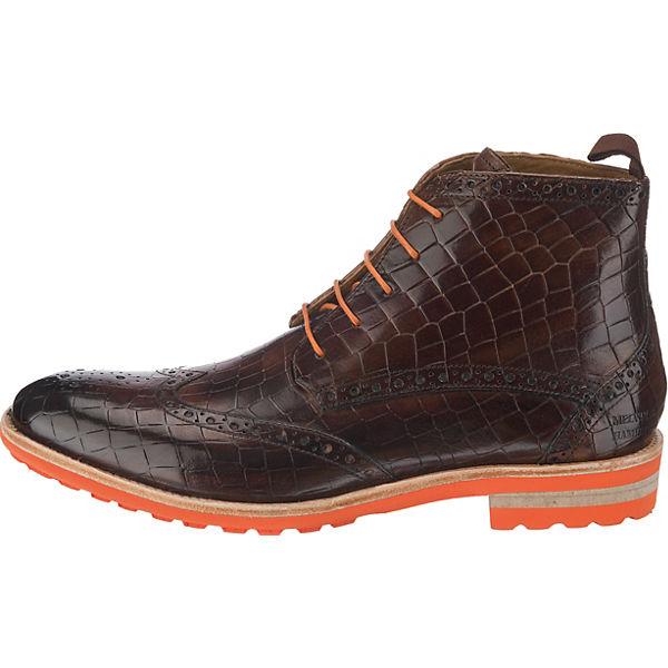 MELVIN & HAMILTON, Eddy 10 Qualität Schnürstiefeletten, braun  Gute Qualität 10 beliebte Schuhe a153d0