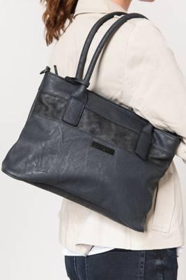 rieker, Handtasche, schwarz