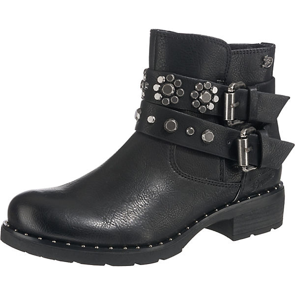 competitive price 6d09d 17ce2 TOM TAILOR, Biker Boots, schwarz