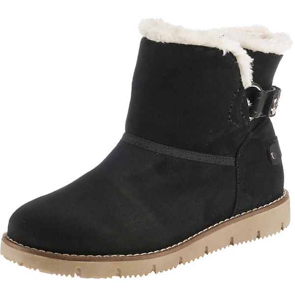 size 40 bf87a 4e98a TOM TAILOR, Winterstiefel, schwarz