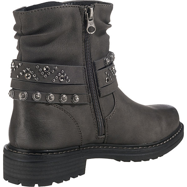 TOM TAILOR, Klassische Stiefeletten, grau Gute Qualität Qualität Qualität beliebte Schuhe 81fa0a