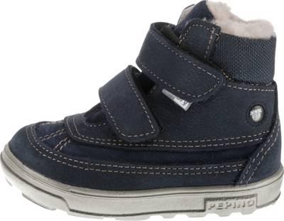 PEPINO by RICOSTA, Baby Winterstiefel FINJA, Sympatex, Weite W für breite Füße,für Mädchen, dunkelblau