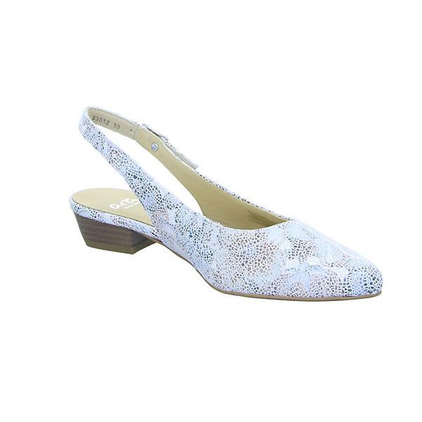 ara, PARIS Gute PARIS Sling-Pumps, weiß  Gute PARIS Qualität beliebte Schuhe 29b501