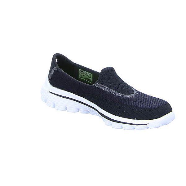 SKECHERS, 13590 Sportliche Slipper, beliebte schwarz  Gute Qualität beliebte Slipper, Schuhe 5e2e4b
