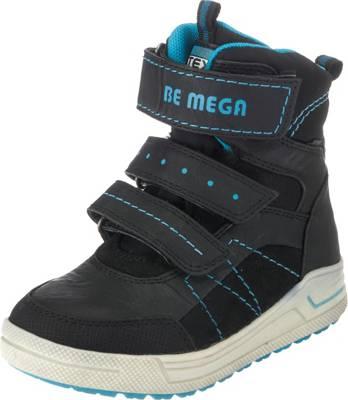 Be Mega, Winterstiefel für Jungen, TEX, schwarz