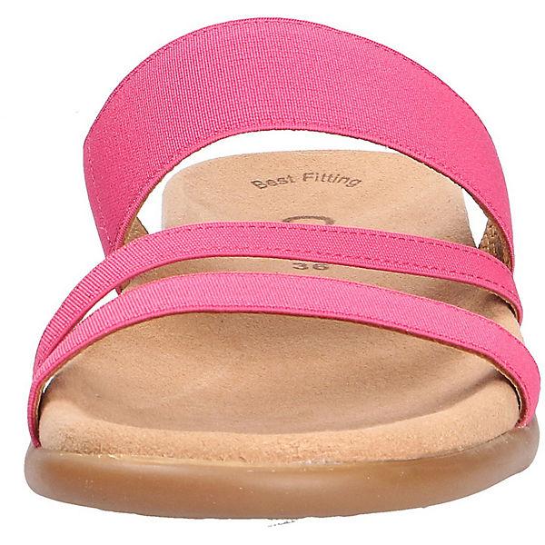 Gabor, Gabor, Gabor, Pantoletten, rosa  Gute Qualität beliebte Schuhe 8cf6f6
