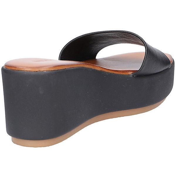INUOVO, Pantoletten, schwarz  beliebte Gute Qualität beliebte  Schuhe cf4af1