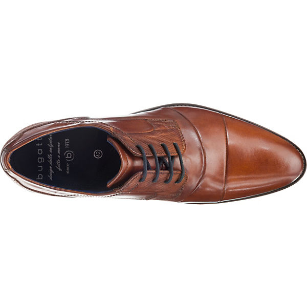 bugatti, Gute Luano Business-Schnürschuhe, cognac  Gute bugatti, Qualität beliebte Schuhe 005004