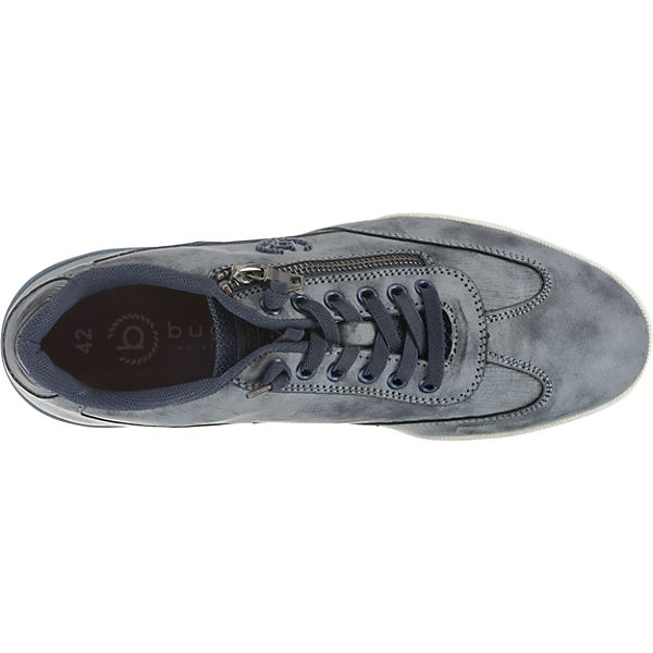 bugatti Sneakers Low Lake Lake dunkelblau bugatti qxSwqYpf