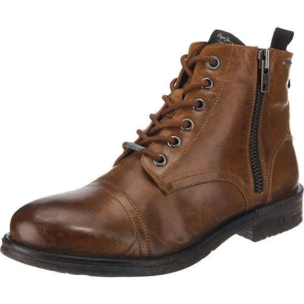 Jeans Schnürstiefeletten Tom cut Boot Cognac Med Pepe tsQhdr