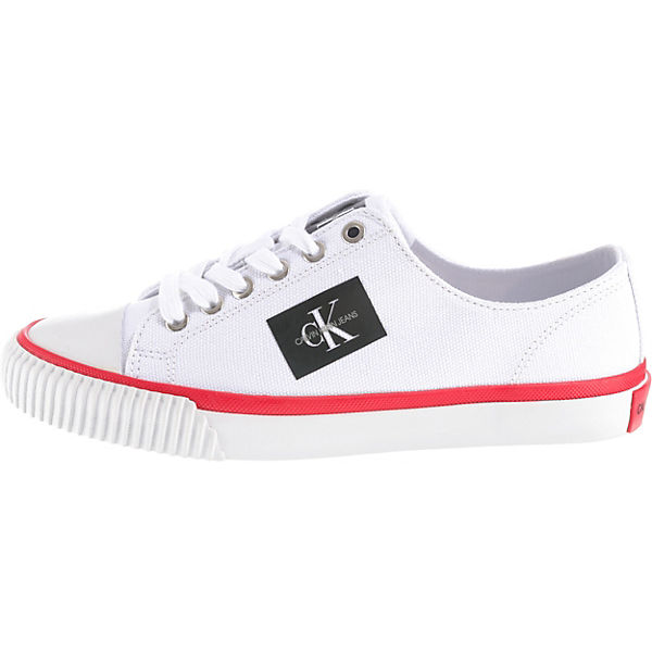 Low Sneakers Klein weiß Ivory Calvin xSCqwOq