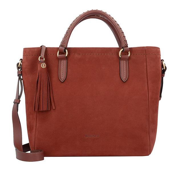 Bogner Chelsea Corin Handtasche Leder 30cm Handtaschen Rot Mirapodo