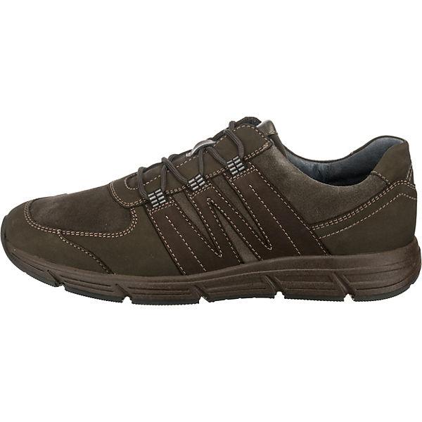 WALDLÄUFER, Haslo Qualität Komfort-Halbschuhe, grau-kombi Gute Qualität Haslo beliebte Schuhe 3fc596