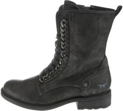 MUSTANG, Biker Boots, grau | mirapodo