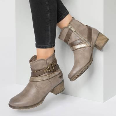 taupe Klassische MUSTANG, Gute Stiefeletten, Schuhe beliebte