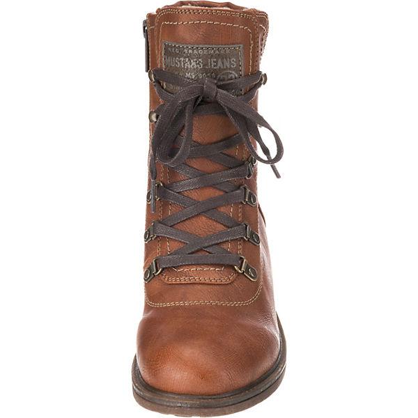 MUSTANG, Qualität Schnürstiefeletten, nut  Gute Qualität MUSTANG, beliebte Schuhe 86fbdf