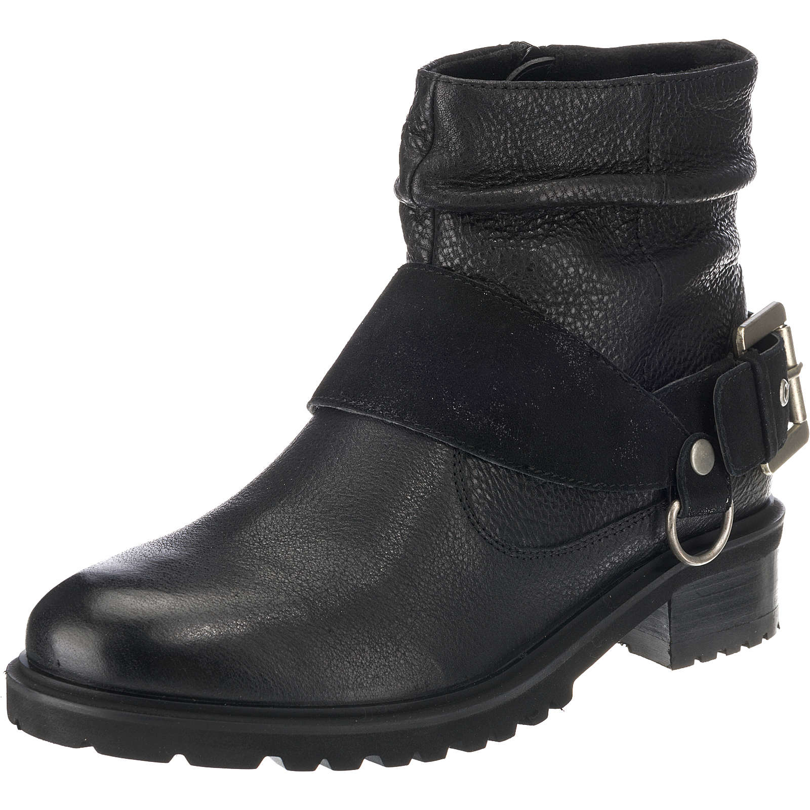 SPM Biker Boots schwarz Damen Gr. 36