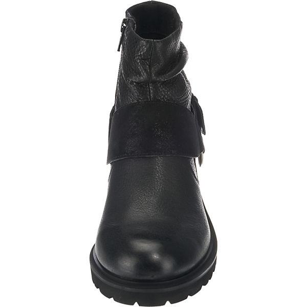 SPM Biker Boots schwarz beliebte  Gute Qualität beliebte schwarz Schuhe 6dcc45