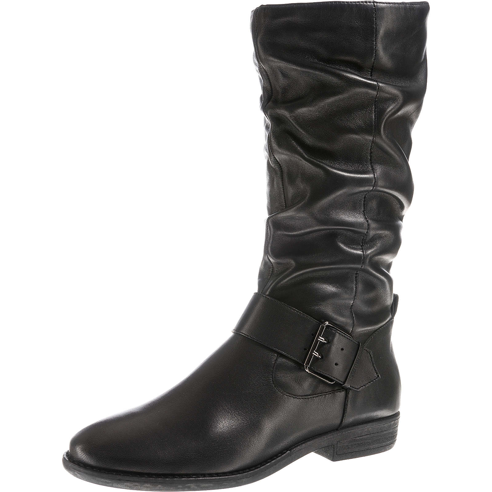 SPM Klassische Stiefel schwarz Damen Gr. 37