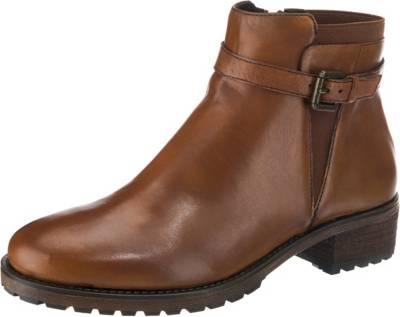 Gute cognac Stiefeletten, Klassische SPM, Qualität Schuhe