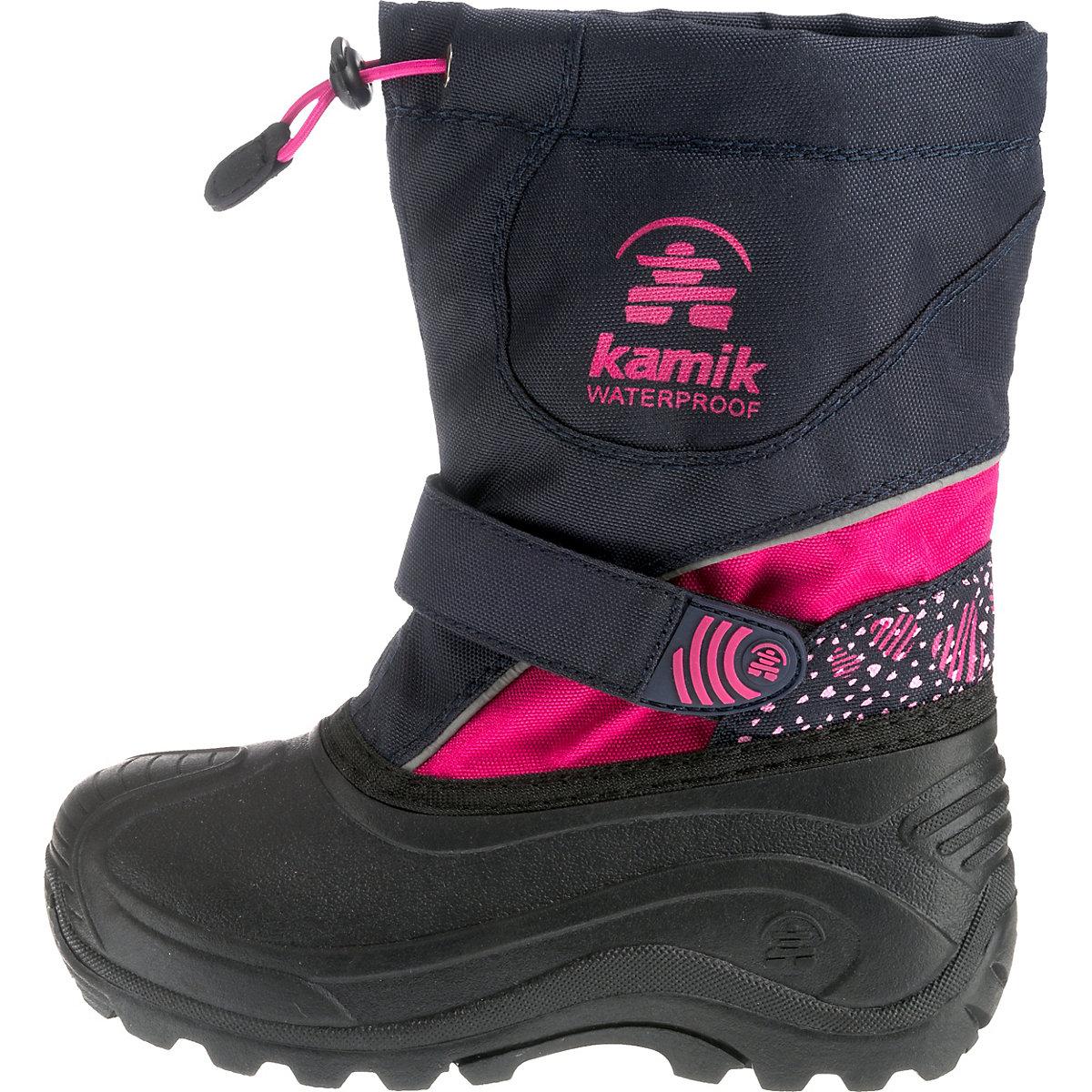 Kamik, Winterstiefel Snowblast3 Für Mädchen Von Blau-kombi