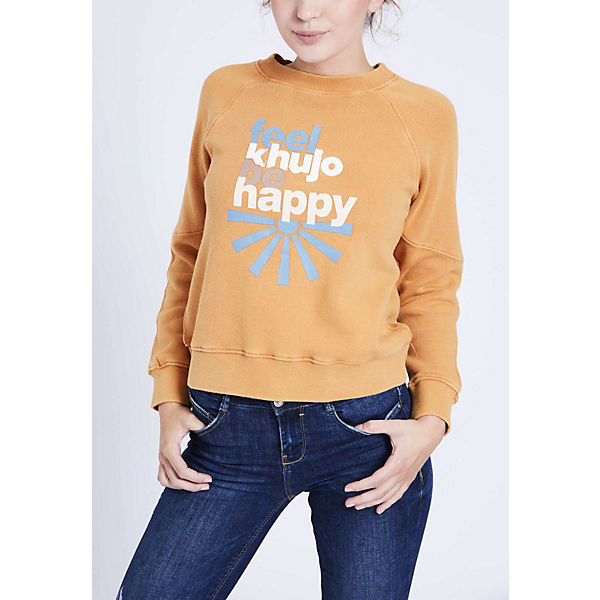 HAPPY Khujo Khujo Sweatshirt Sweatshirt KALIVA braun WIUw0F