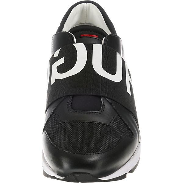 Slip Hugo Uptown Boss Asya Sneaker schwarz L On qrIr4w
