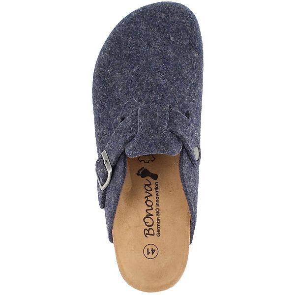 dunkelblau Pantoffeln Wesel BOnova Pantoffeln Wesel BOnova BOnova dunkelblau Wesel g4KMqyc8