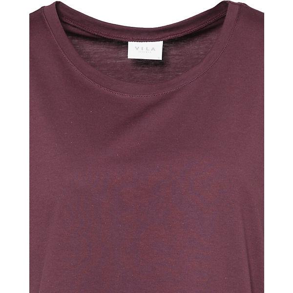 T T T dunkelrot Shirt VILA VILA VILA dunkelrot Shirt dunkelrot Shirt g8aqPt