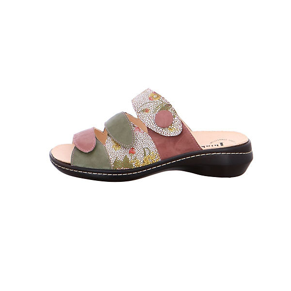 Think!, Komfort-Pantoletten, mehrfarbig  Gute Qualität beliebte Schuhe