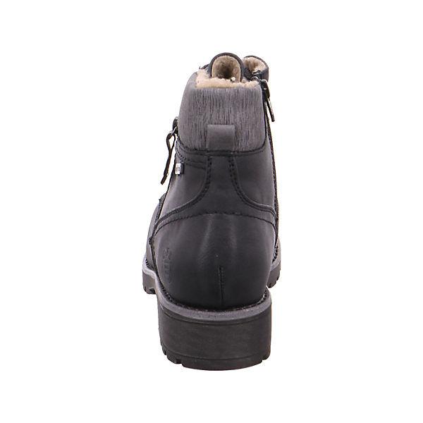 Jana, Klassische Stiefeletten, schwarz   schwarz  fa8b98