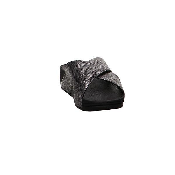 FitFlop Pantoletten schwarz Pantoletten FitFlop 8HvBz8x