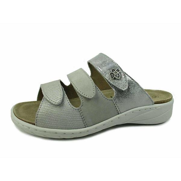 Solidus Komfort-Pantoletten grau  Gute Qualität beliebte Schuhe