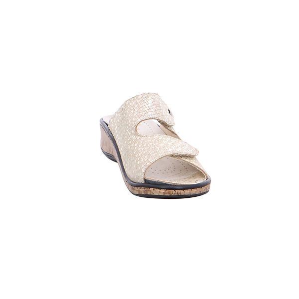 Fidelio, Komfort-Pantoletten, Gute gold  Gute Komfort-Pantoletten, Qualität beliebte Schuhe df966f