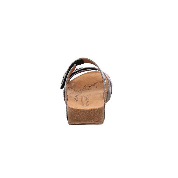 Josef Seibel, Gute Pantoletten, grau  Gute Seibel, Qualität beliebte Schuhe d3d941